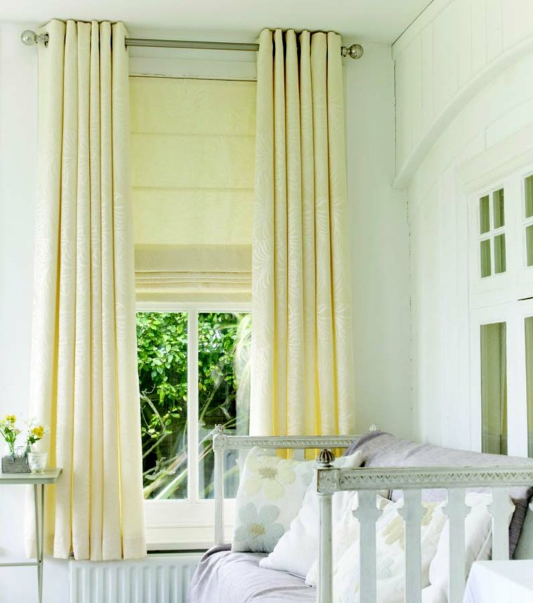 cortinas para ventanas oscilobatientes modernas
