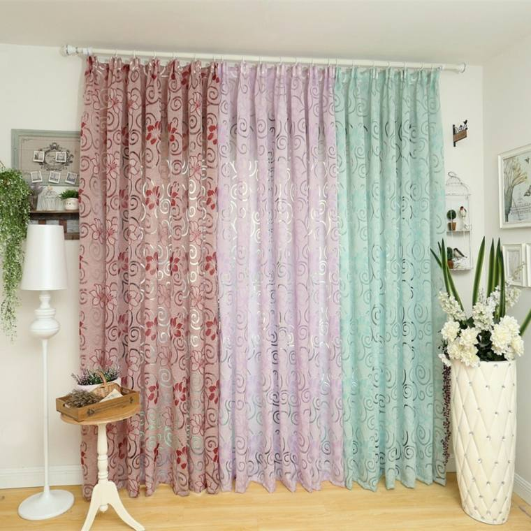 cortinas puerta cocina