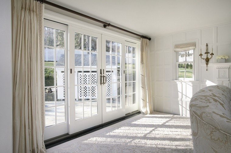 Cortinas para ventanas abatibles dise os funcionales y bonitos - Puerta terraza ...