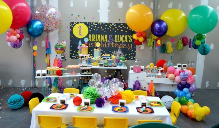 cumpleaños decoracion exteriores suelos materiales