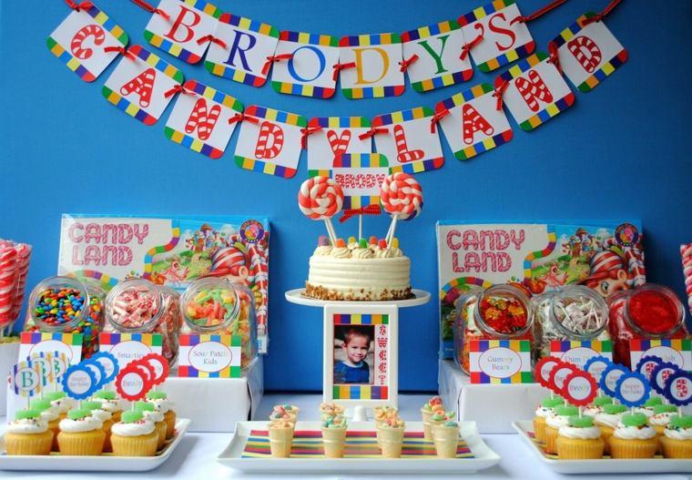 cumpleaños decoracion fuentes muebles ideas