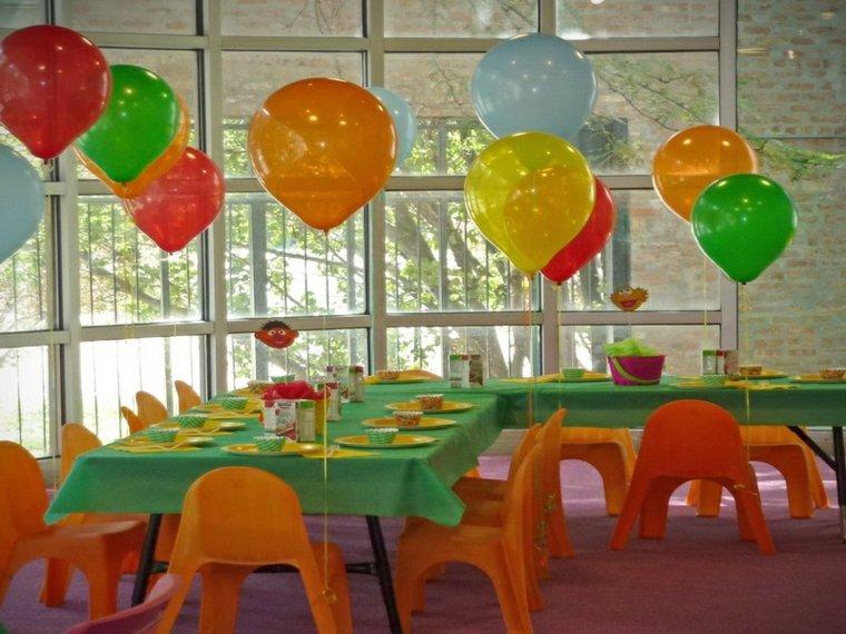 cumpleaños decoracion salones especiales globos combinaciones