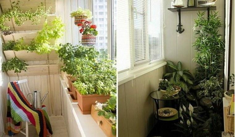 decorar balcones terrazas pequeñas