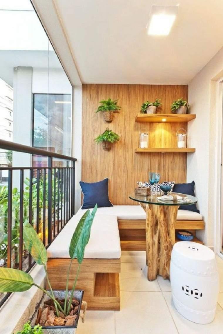Decoraci n de terrazas peque as como decorar una terraza - Fuentes para terrazas pequenas ...