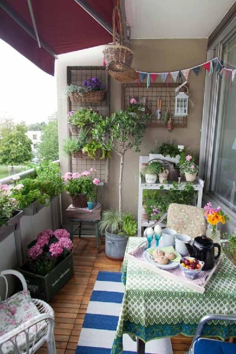 Decoraci n de terrazas peque as como decorar una terraza - Decoracion terrazas pequenas ...