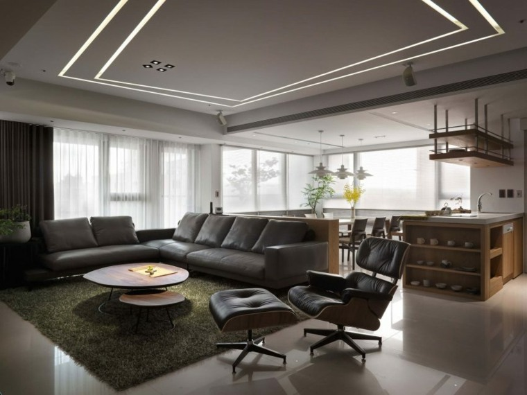 decoración de interiores apartamento Ryan Lai Architects ideas