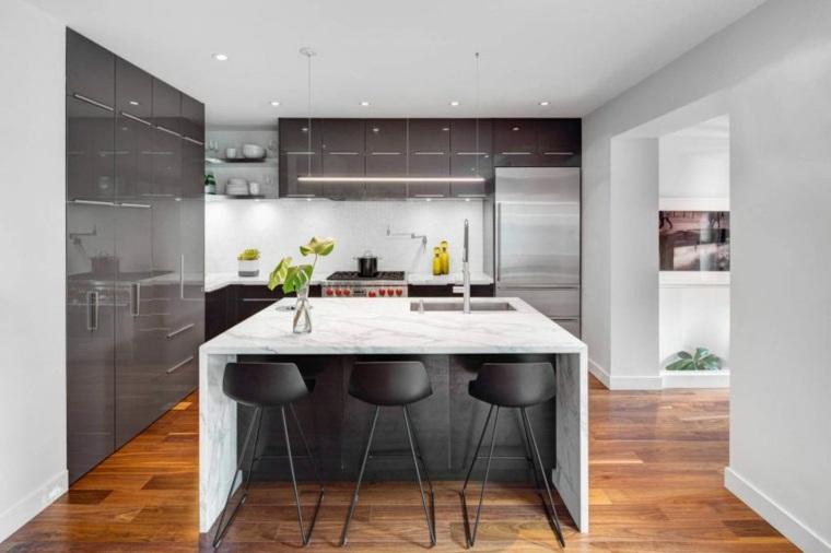 decoración de interiores cocina diseno Post Architecture ideas