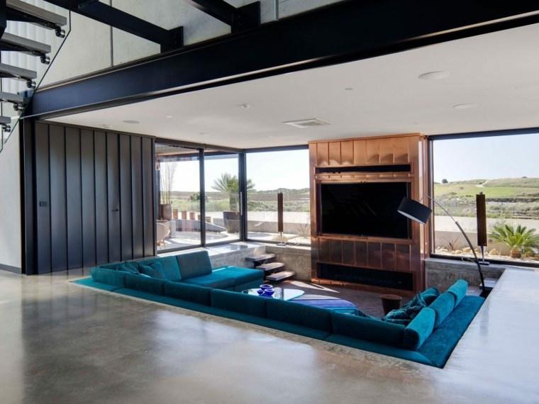 decoración de interiores residencia moderna Lachlan Shepherd Architects ideas