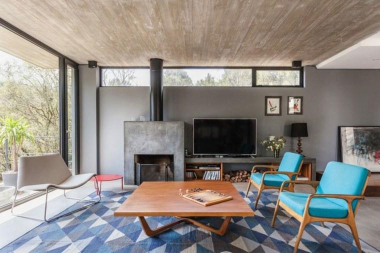decoración de interiores residencia moderna SUCRA Arquitetura