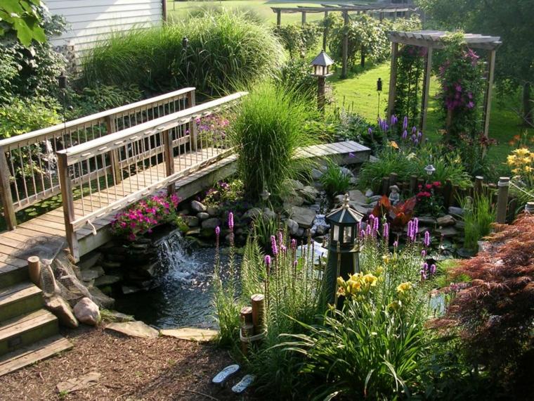 decoracion jardin conceptos materiales ideas conceptos