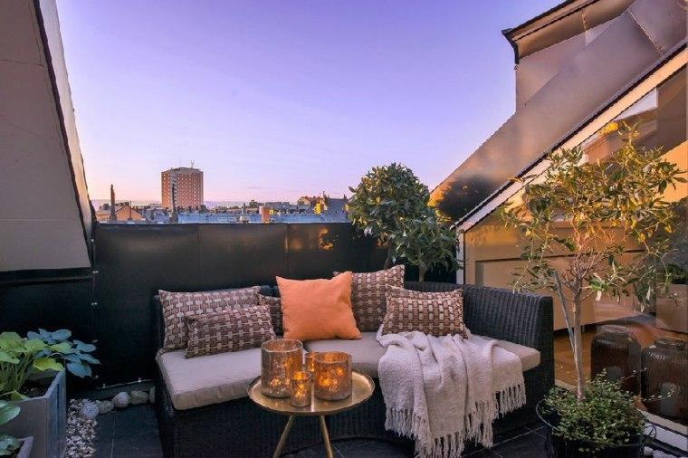 decoraci n terrazas ticos de forma moderna y elegante