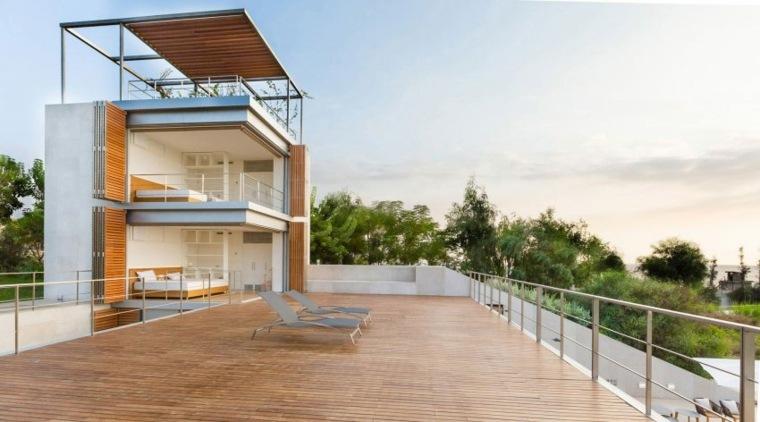 decoración terrazas diseno original Hashim Sarkis Studios ideas