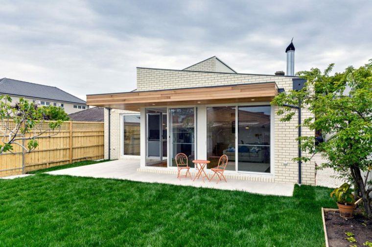 terrace decoration original design ITN Architects ideas