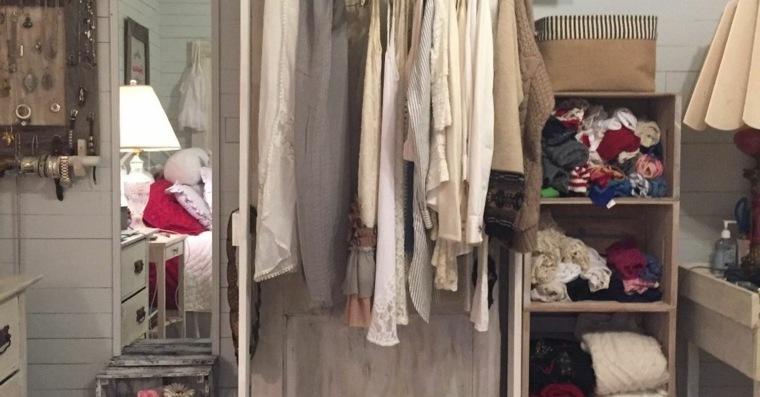 armario vestidor vintage