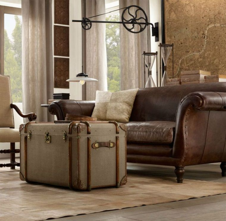 maleta estilo vintage