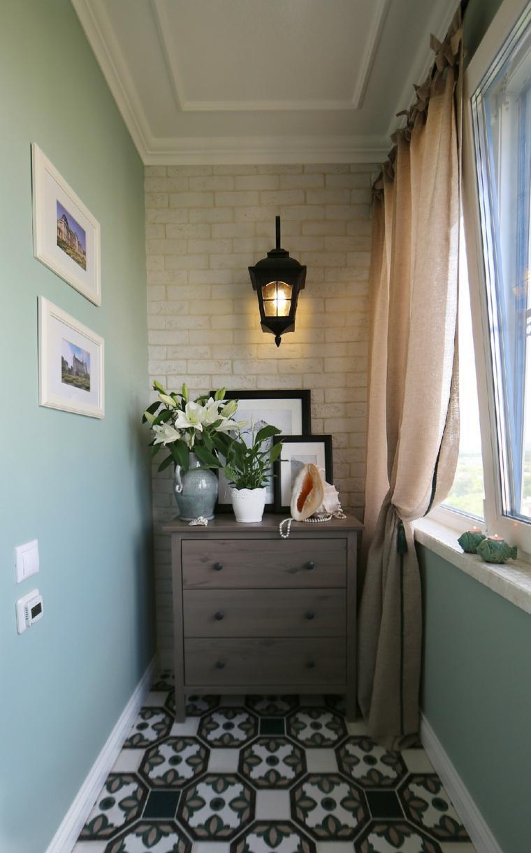 decorar balcones pequeños cerrados comoda ideas