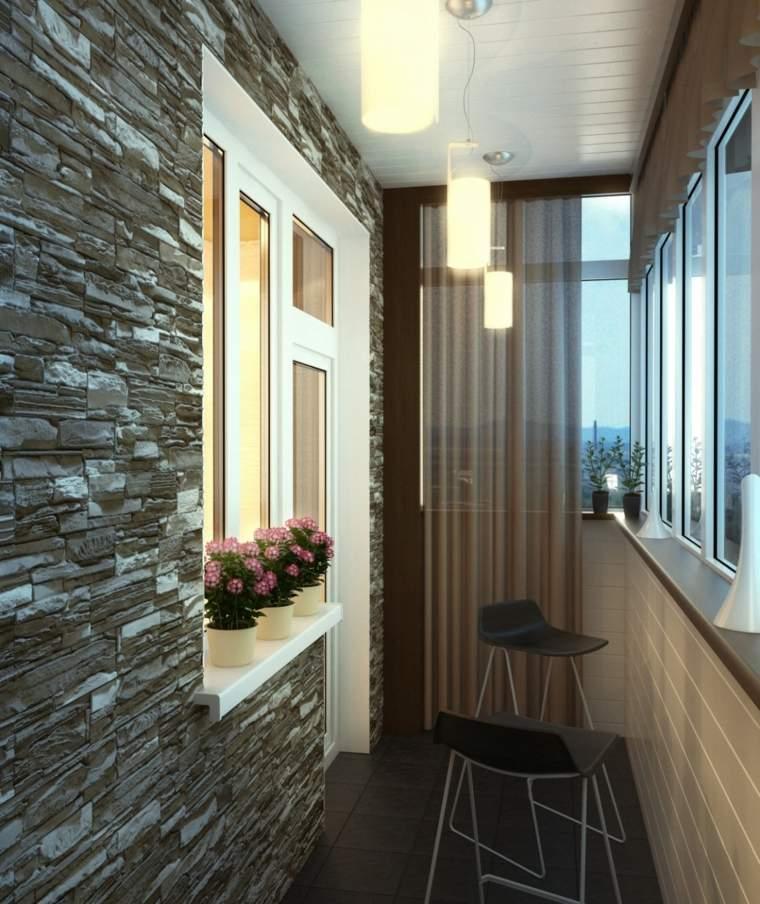 Decorar balcones peque os con estilo 40 ideas en fotos - Sillas para balcon ...