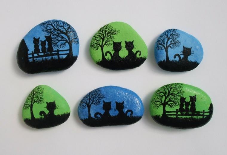 Piedras pintadas para decorar vuestra casa de forma original for Piedras pequenas para decorar
