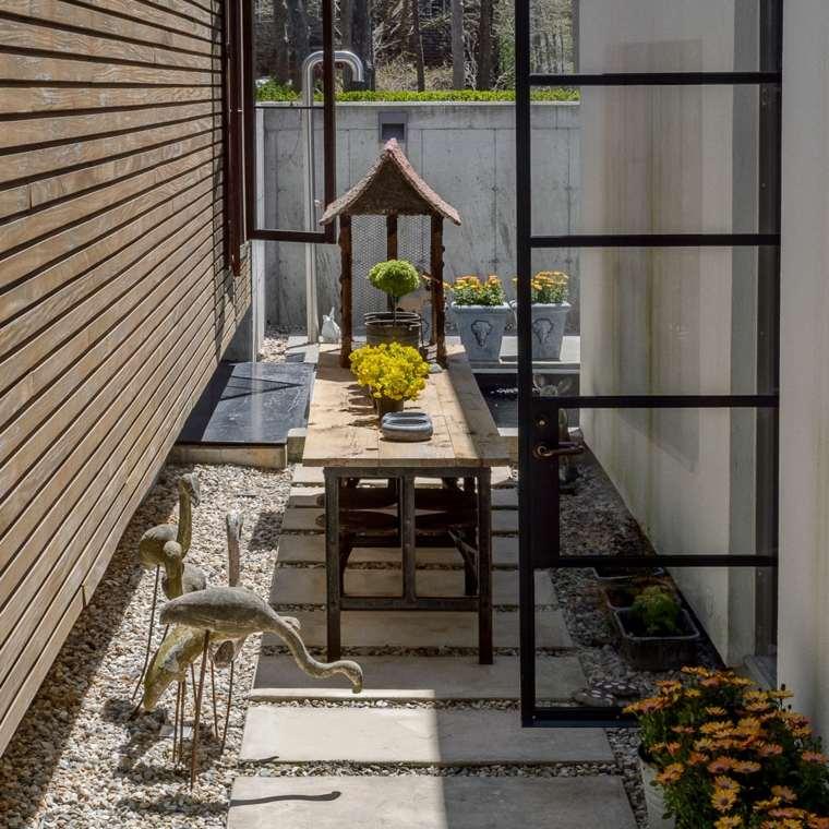 decorar terrazas barato opciones espacios estrechos ideas