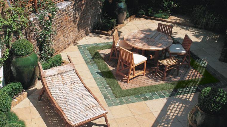 decorar terrazas barato opciones suelo moderno ideas