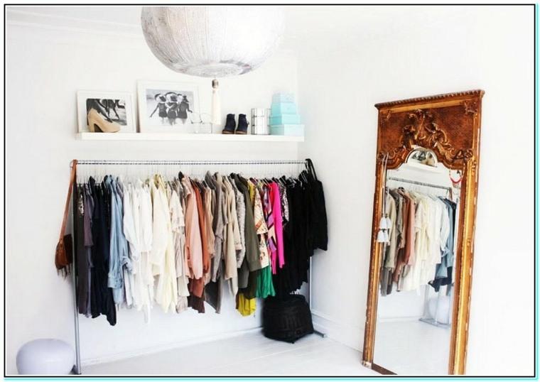 vestidor estilo minimalista