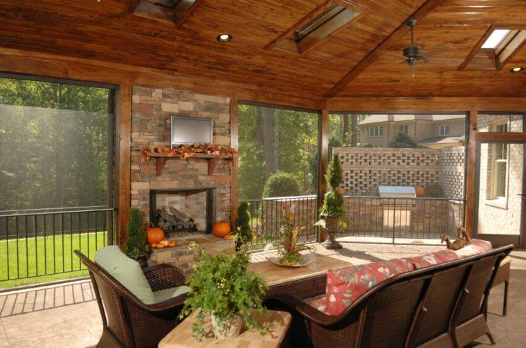 diseño cerrado rocas rustico estilos muebles