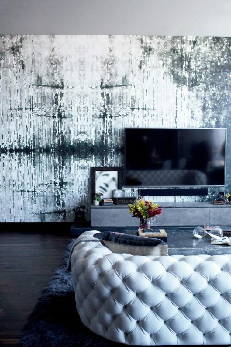 diseño pared especial moderna colores texturas