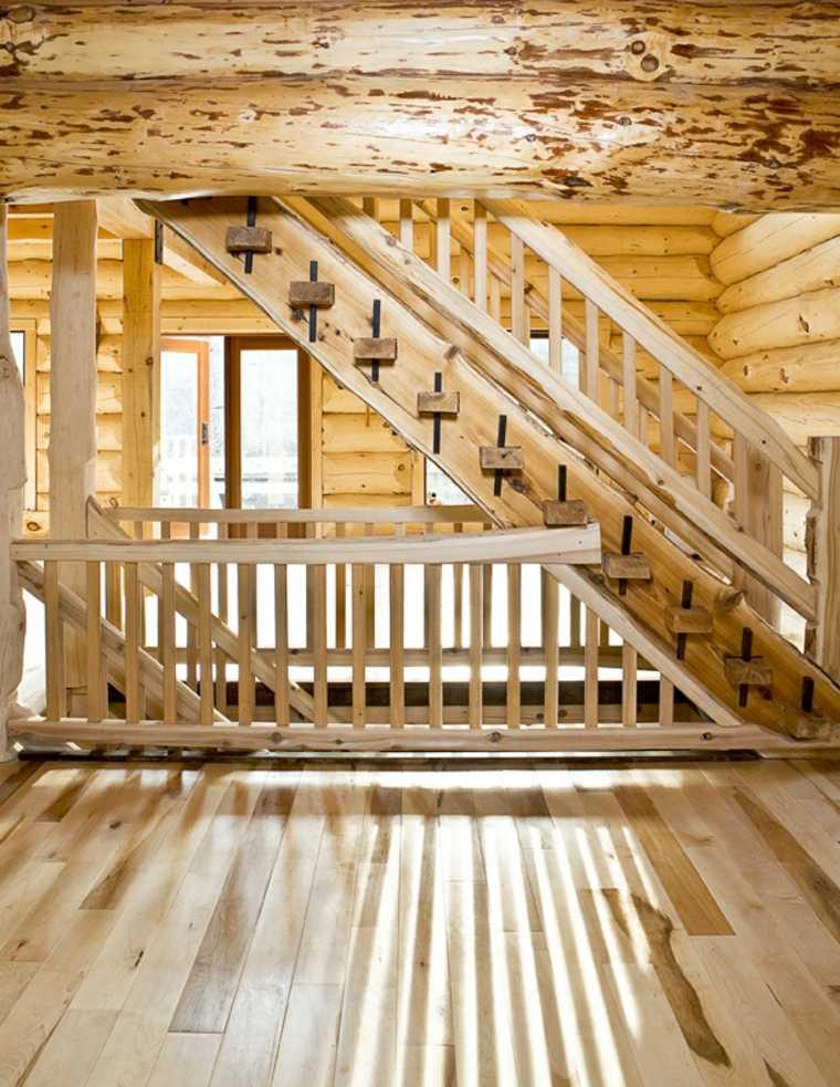 diseño original escalera madera