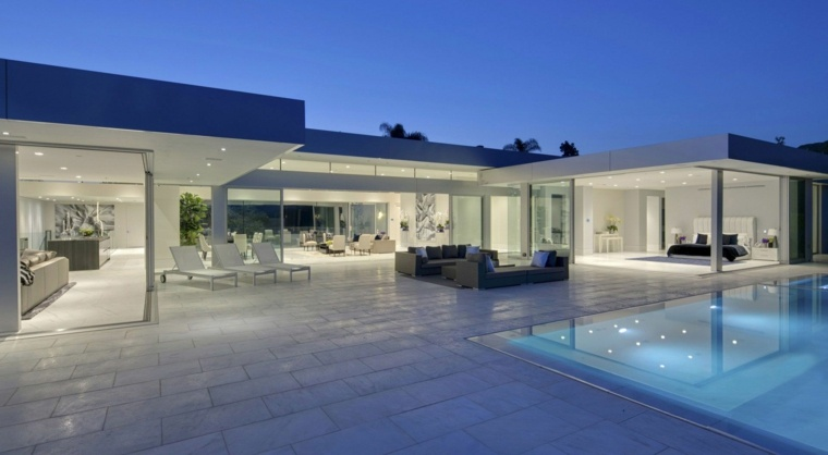 simple modern terrace design McClean Design ideas