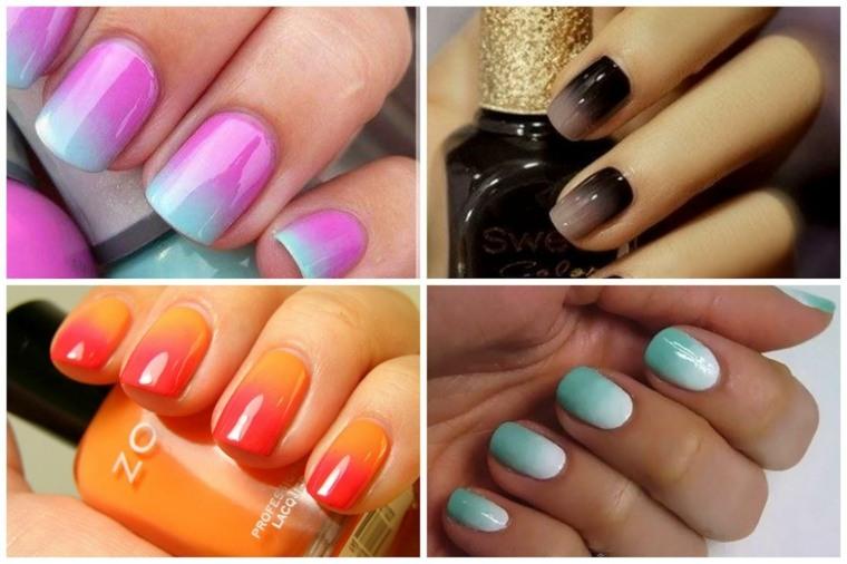 diseño uñas modernas