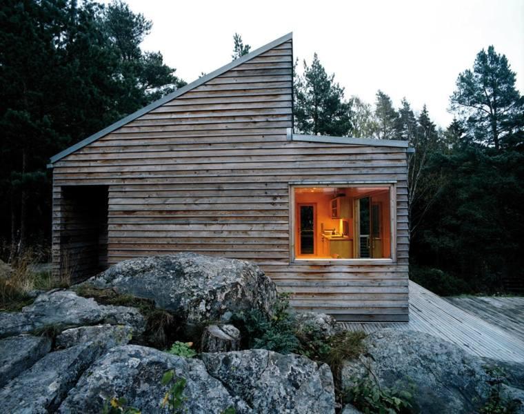cabana de estilo moderno