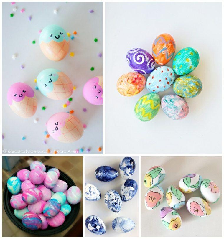 originales ideas huevos pascua