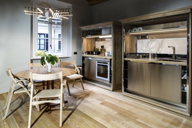disenos-de-cocinas-estilo-industrial-espacios-pequeno