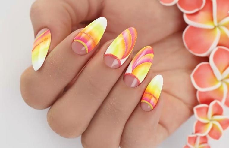 diseños de uñas dedos