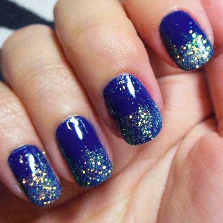 diseños de uñas fáciles modernas