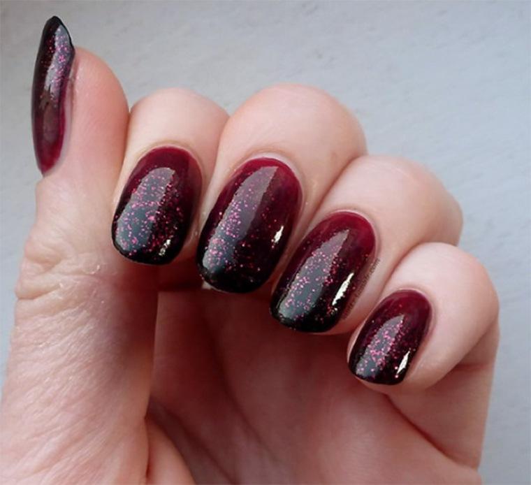 diseños de uñas largas elegantes