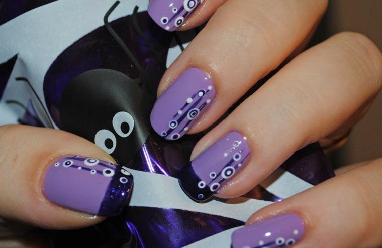 diseños de uñas modernos manos