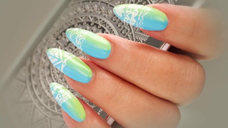 diseños de uñas modernos