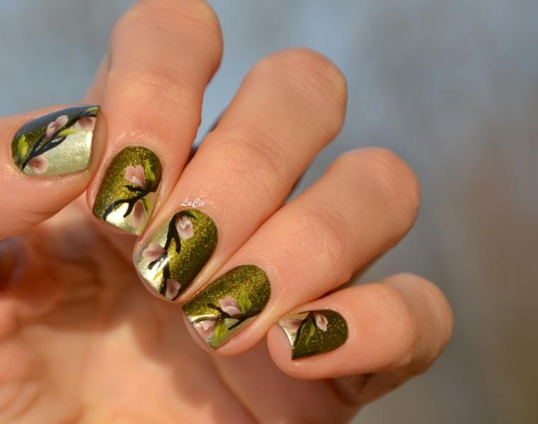 diseños en uñas modernas
