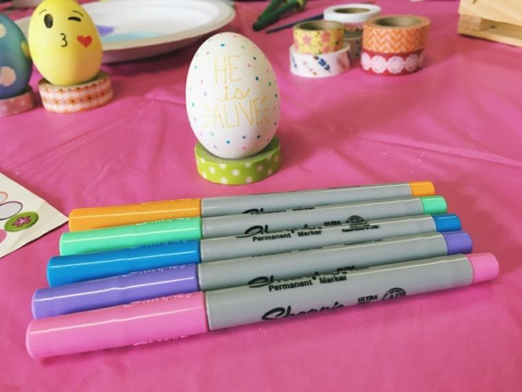 decorar huevos mensajes pascua