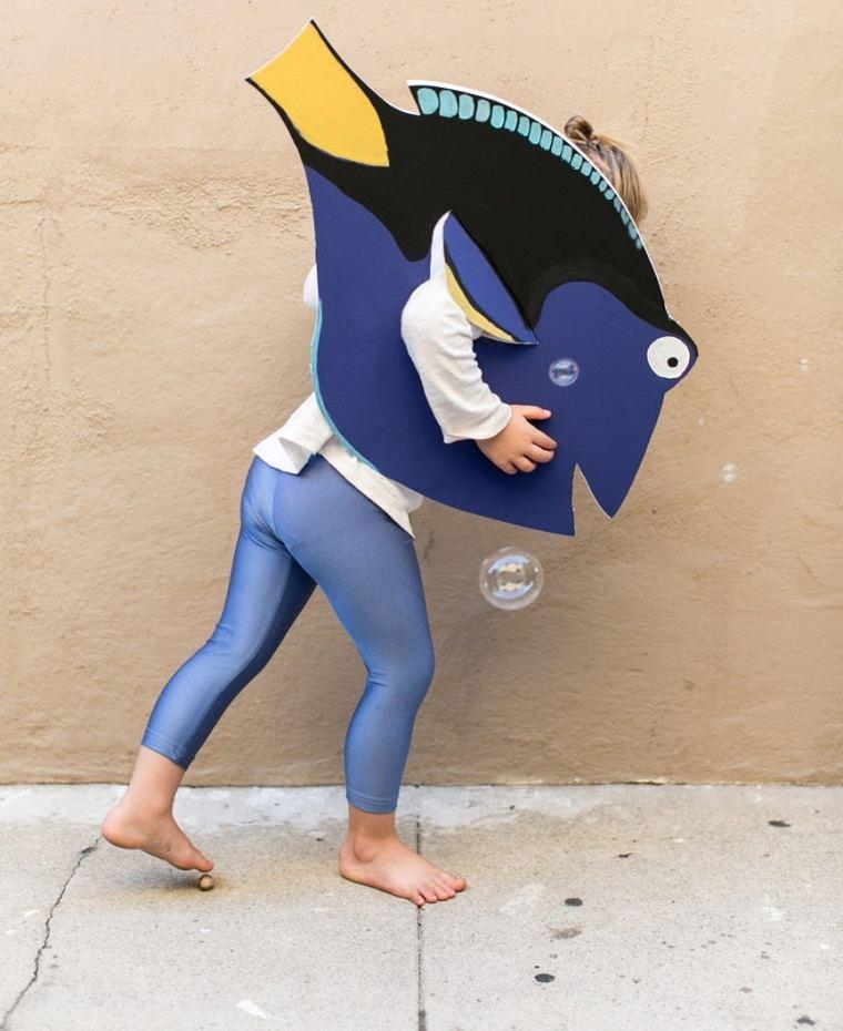 disfraces caseros originales pez dory ideas