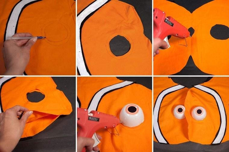 disfraces caseros originales pez nemo diseno ideas