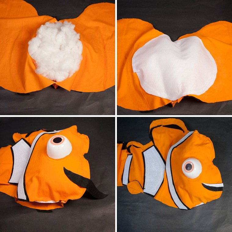 disfraces caseros originales pez nemo opciones ideas