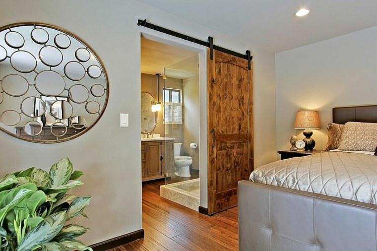 dormitorio puerta corredera bano