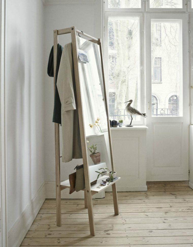 dormitorios espejos cristales materiales escaleras