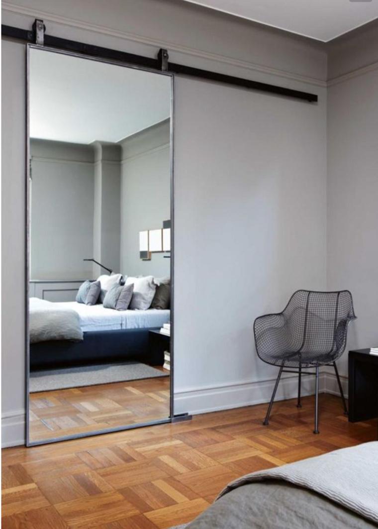 dormitorios espejos interiores decoraiones muebles granero