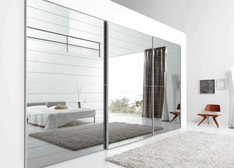 Dormitorios espejos funcionales para reflejar todo tu estilo for Espejo pared habitacion