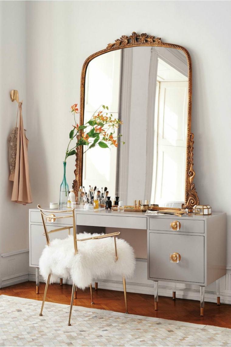 dormitorios espejos pieles salones imaginacion grises