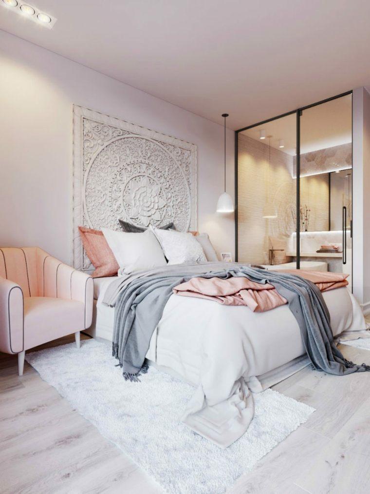 dormitorios espejos sillones meubles ideas