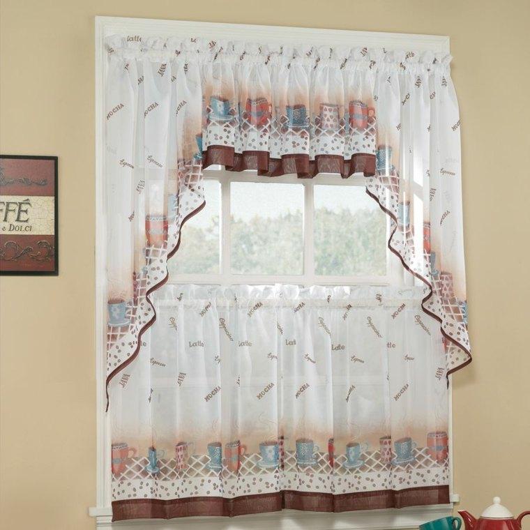 dos niveles cortinas especiales muebles sillones
